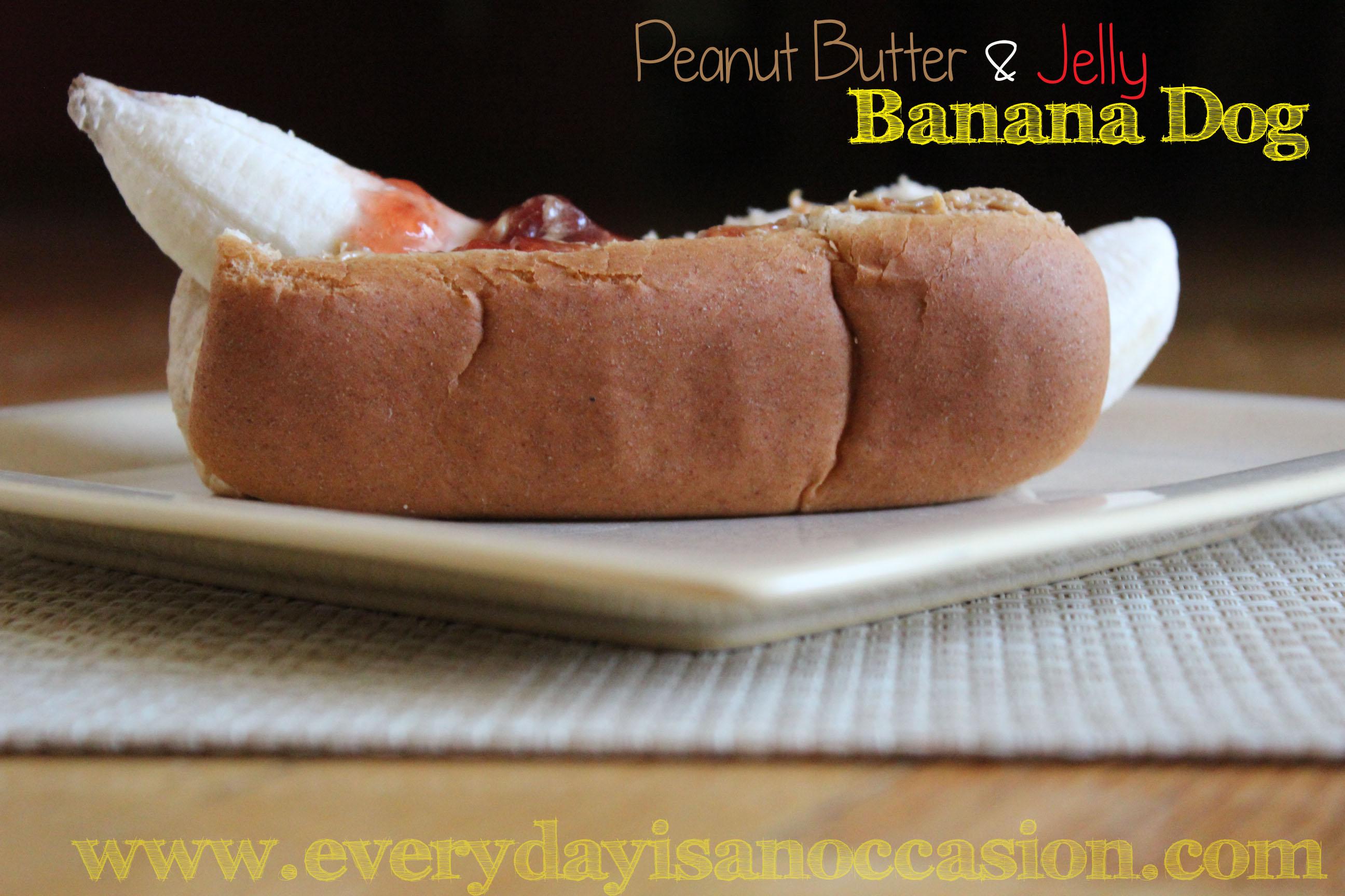 Baby Weiner Dog In Hot Dog Bun Banana inside a hotdog bun