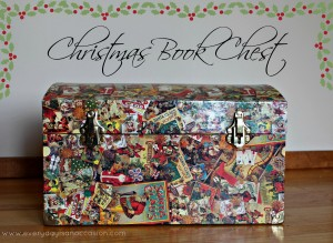 Christmas Book Chest by Every Day is an Occasion
