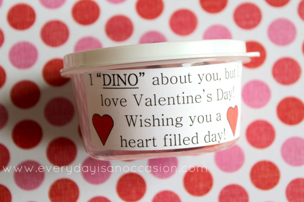 Dinosaur Valentines by Every Day is an OCcasion