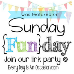 Sunday Funday feature button