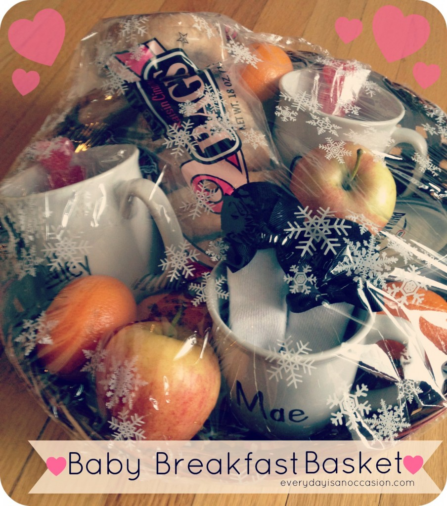 Baby Gift Basket by Every Day is an Occasion