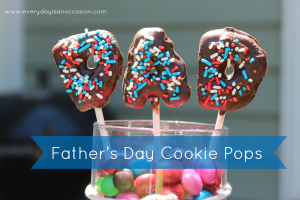 Father's Day Cookie Pops