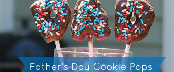 Super Simple Father's Day Cookie Pops