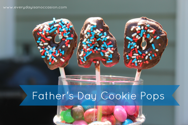 Father's Day Cookie Pop Gift by Every Day is an Occasion