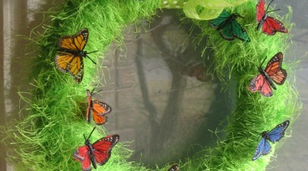 Fun Butterfly Wreath