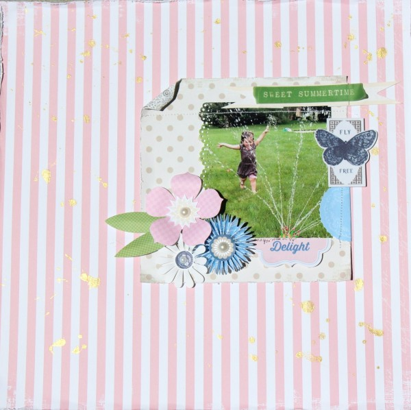 Pretty in Pink Fly Free Layout by Every Day is an Occasion