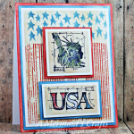 Patriotic Card by A Mermaids Crafts