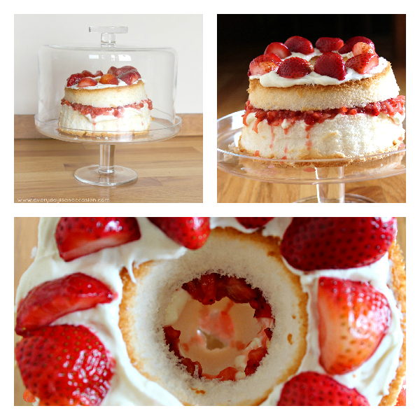 Angel food cake fresh strawberries recipe every day is an occasion strawberry angel food cake dessert strawberry dessert by every day is an occasion forumfinder Image collections