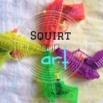 Squirt Gun Art by Every Day is an Occasion