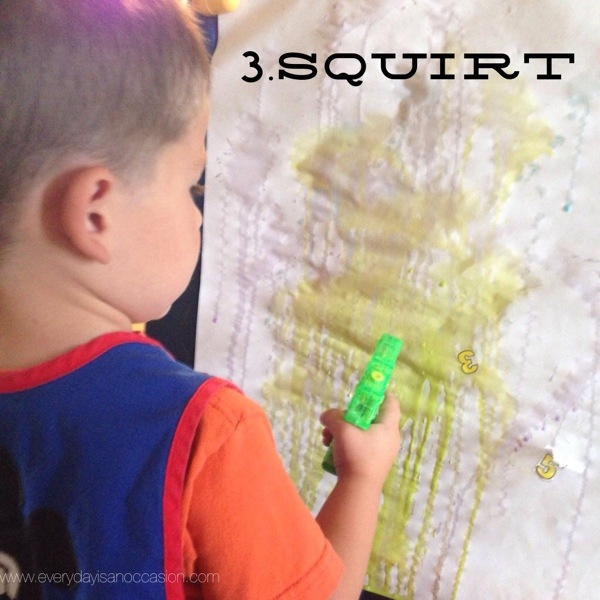 Squirt Gun Art Instructions 3