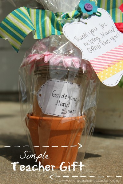 Back to School Teacher Gift by Every Day is an Occasion