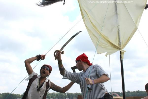 DIY Pirate Ship Fight