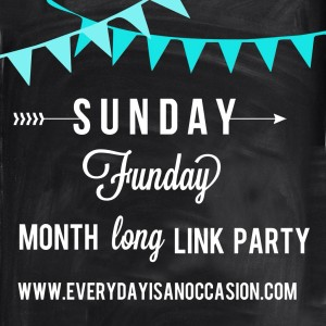 Sunday Funday Link Party