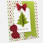 Beautiful Christmas Card by Norma from Pink Bling Crafter