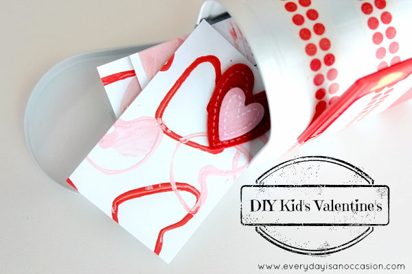 DIY Valentine's by Every Day is an Occasion