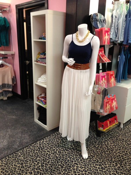Pleated Skirt from Flourish Boutique
