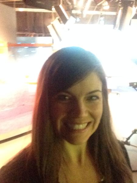 Jill Lebbin Behind the Scenes Selfie