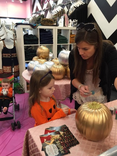 Flourish Pumpkin Craft