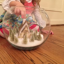 Snow Globe Vases 4 by Every Day is an Occasion