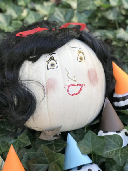 Snow white fake pumpkin  by Every Day is an Occasion
