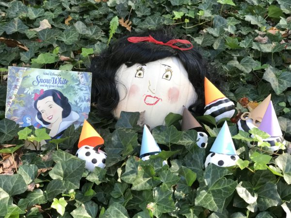 Snow white and the seven dwarfs pumpkin book report by Every Day is an Occasion