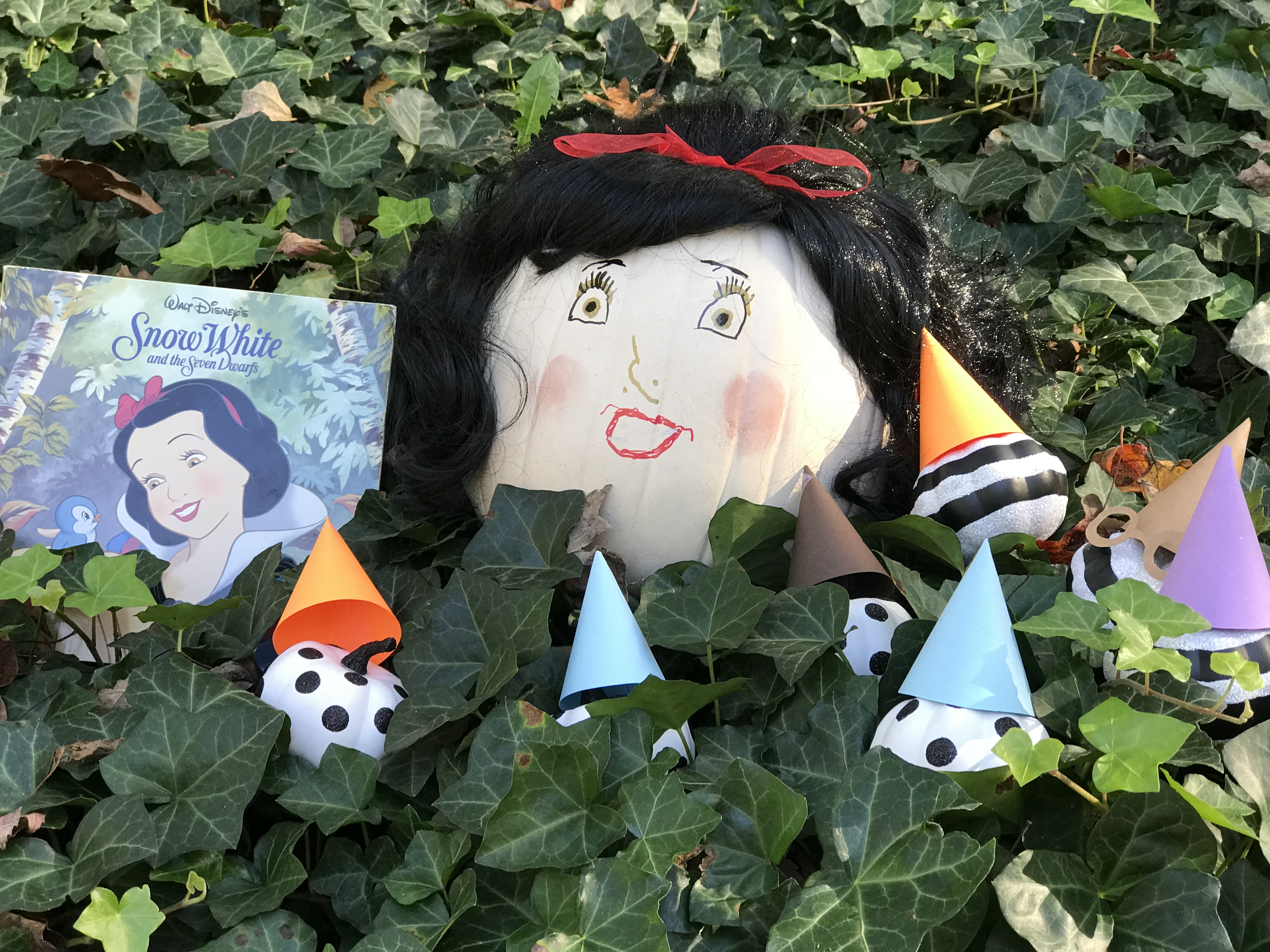 Snow White and the Seven Dwarfs pumpkin by Every Day is an Occasion